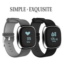 Vwar Smart Band P2 крови Давление монитор сердечного ритма Смарт Браслет фитнес-трекер Шагомер Смарт для Android IOS смартфонов
