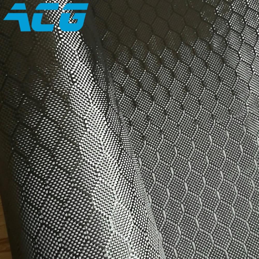 Jacquard Carbon Fiber Cloth honey comb hexagon pattern for carbon fiber auto parts