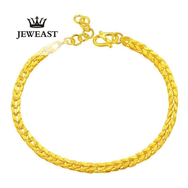 xxx 24k Pure Gold Bracelets Golden Bracelet Modern Stylish and Simple   Elegant and Delicate 999Solid Gold Bracelet
