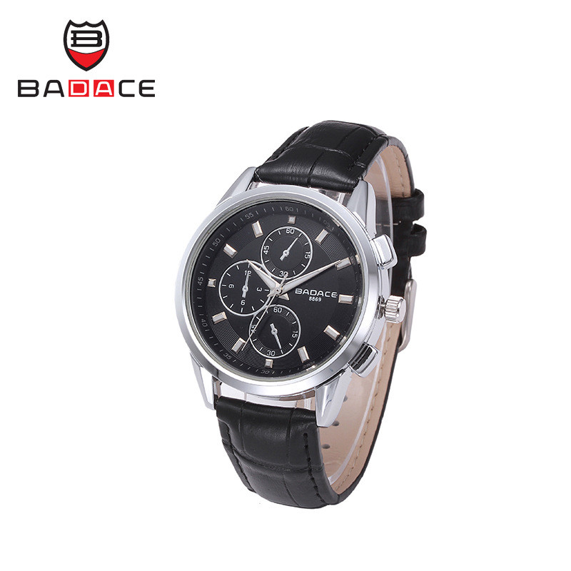 BADACE Business Swiss Men Watch Fashion Waterproof Hours 30M Sport Clock Quartz-Watches Leather Band Mens Wristwatches 8869 5  BADACE Business Swiss Men Watch Fashion Waterproof Hours 30M Sport Clock Quartz-Watches Leather Band Mens Wristwatches 8869 HTB1y5lCLpXXXXaGapXXq6xXFXXXP