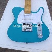 Guitarra electrica venta al por mayor nuevo fen tl custom guitarra electrica Sky blue guitarra in china