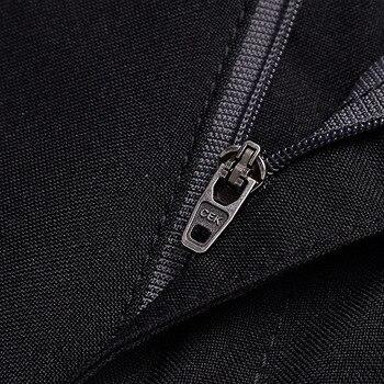 Calças de negócios casuais manter quente inverno moda calças homens terno calça homens cavalheiro sem engomar grosso MOOWNUC Slim Fit 38 39 40 36 1