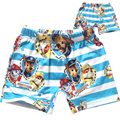 new 2016 fashion cartoon patrol dog patrol clothes baby boys shorts summer children chothing kids boys the beach swimming trunks