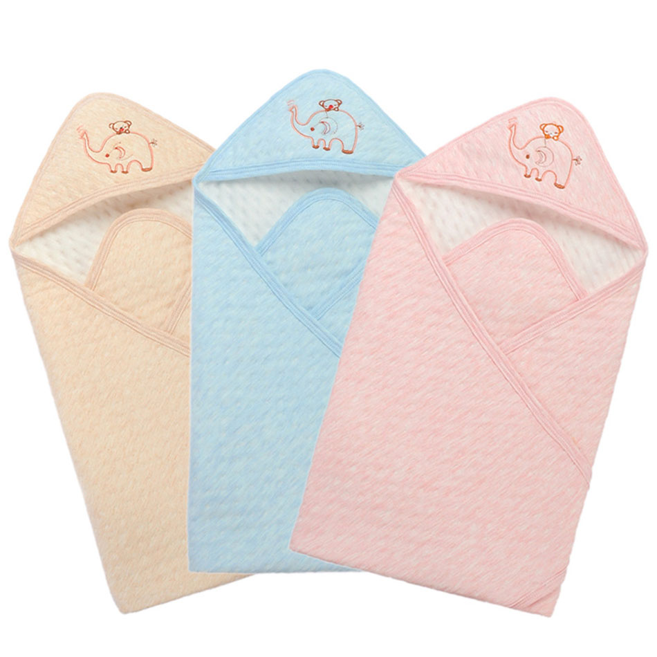 85X85cm Baby Oversized Sleeping Bags Winter Envelope Blanket For Newborn Cocoon Wrap Sleepsack Cotton Baby Bedding