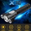 6000LM CREE XML T6 + R5 LED Факел 4 Режима LED Фонарик Факел Магнитный Тактический лампы-Вспышки