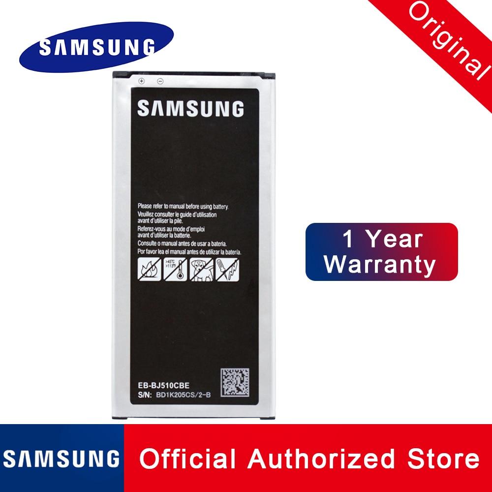 Оригинальная запасная батарея для Samsung Galaxy J5 2016 Edition EB-BJ510CBC j5109 j5108 J510 3100MAH Аккумулятор Akku Быстрая доставка