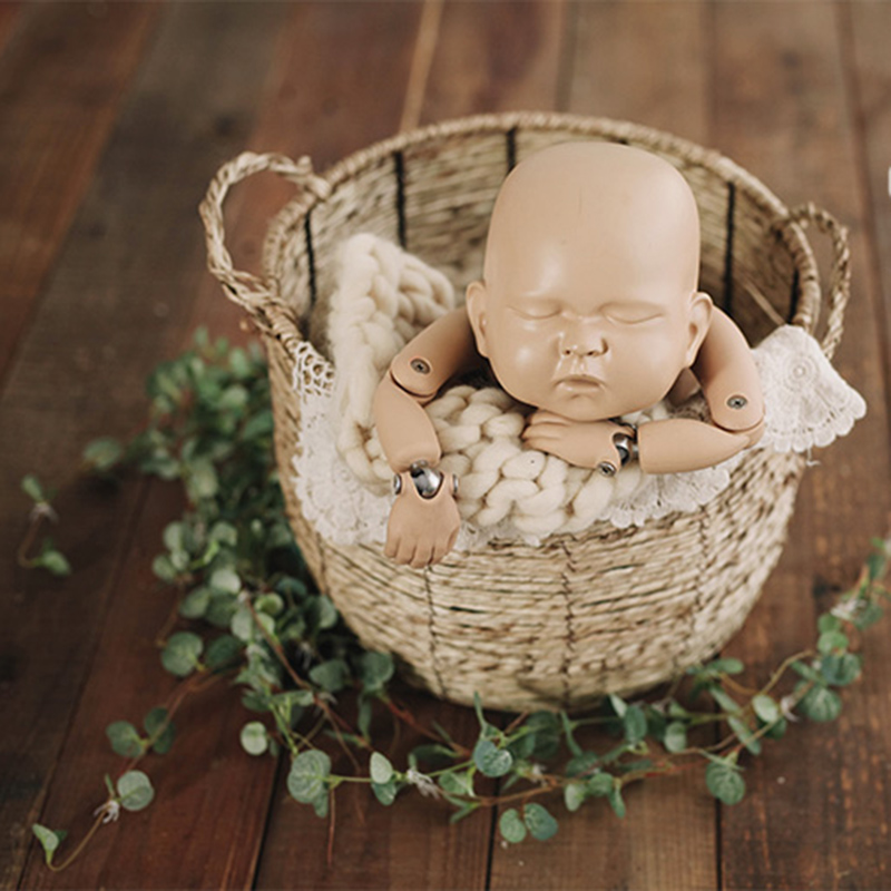 Newborn Baby Photography Posing Basket Props Little Baby Photo Shoot Handmade Iron Accessories Infant bebe fotografia Shoot PropNewborn Baby Photography Posing Basket Props Little Baby Photo Shoot Handmade Iron Accessories Infant bebe fotografia Shoot Prop