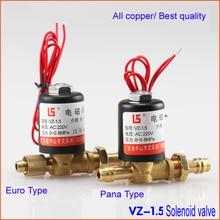 Argon aargon arc welding machine air valve / Solenoid valve /  VZ-1.5 VZ-2.2  AC DC 12V 24V 36V 110V 220V