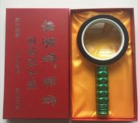 10 kez 80mm LED Aydınlatmalı Eğitim Hediye Büyüteç Çocuk El Büyüteç Okuma Cep Telefonu Tamir için
