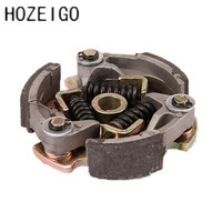 Free Shipping 37 Water Cooled Egine Clutch For 2 Stroke Mini Atv Quad 43CC 47cc 49cc Motorcycle Parts Mini Motor Pocket Scooter
