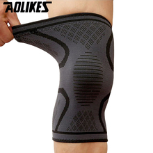 New 1 Pcs Breathable Basketball Football Sport Safety Knee Pad Volleyball Knee Pads Training Elastic Knee Support Knee Protect F недорого