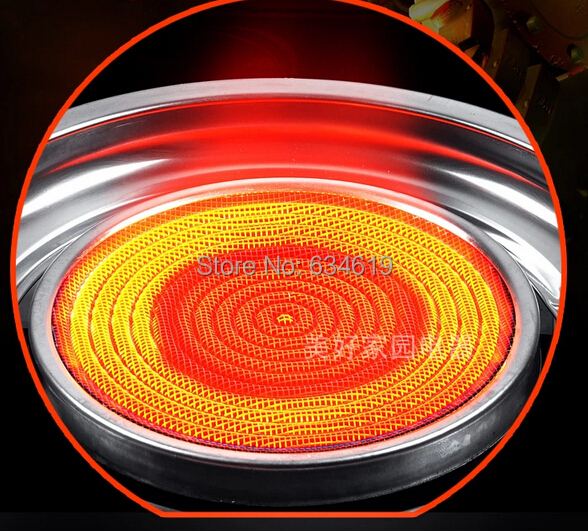 Infrared Energy Saving Gas Stove Kitchen Infrared Gas Cooker Household Gas Cooktop
