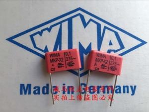2019 hot sale 10pcs/20pcs Germany WIMA MKP-X2 275VAC 0.1UF 275VAC 104 100NF P: 15mm Audio capacitor free shipping(China)