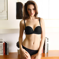 Manufacturers Selling 1 2 Half Cup Detachable Bra Set Push Up Bra And Brief Sets Plus