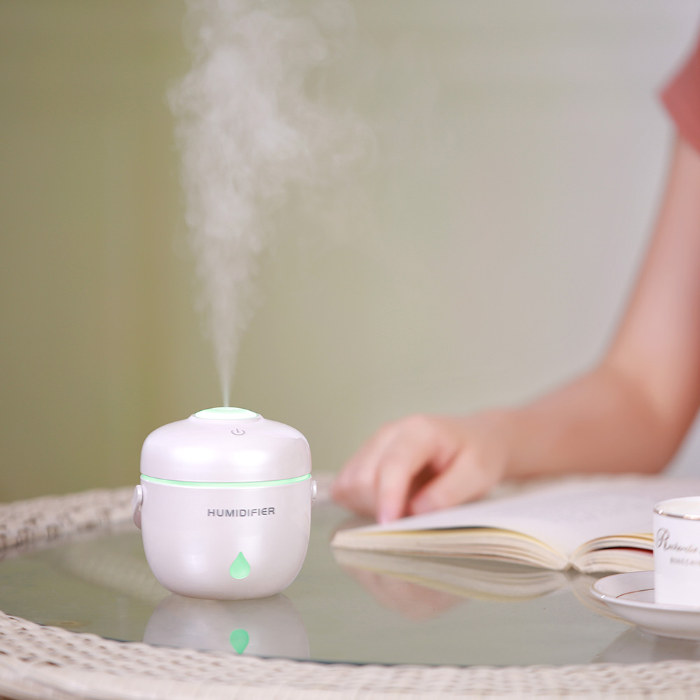 Air Humidifier Portable USB Air Freshener Auto shut Off Mini Air Aroma Diffuser Purifier Atomizer for Home Office Travel Car 5v led lighting usb mini air humidifier 250ml bottle included air diffuser purifier atomizer for desktop car