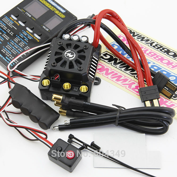 Hobbywing ezrun max8 waterproof 150a esc rc model for Brushless motor speed control