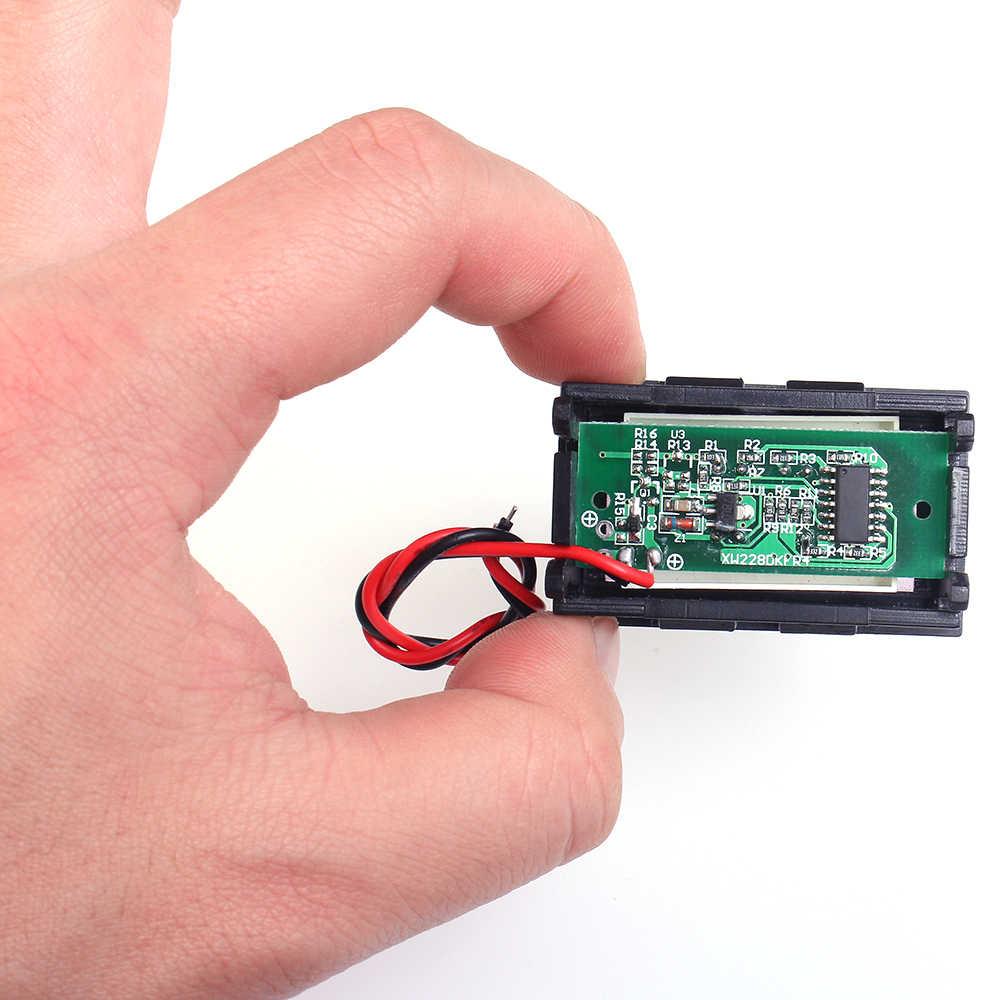 12V Al Piombo Acido Della Batteria Indicatore di Capacità Auto Automotive Display di Carica Della Batteria Scheda di Tester Del Tester del Voltmetro Blu