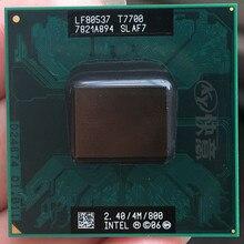 Intel Core 2 Duo T7700 notebook CPU Laptop processor PGA 478 cpu 100% working properly