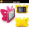 For ipad mini Case Colorful Kids Thick Foam EVA Shock Proof Foam Butterfly character Case For Apple iPad mini 2 3 Silicone Cover