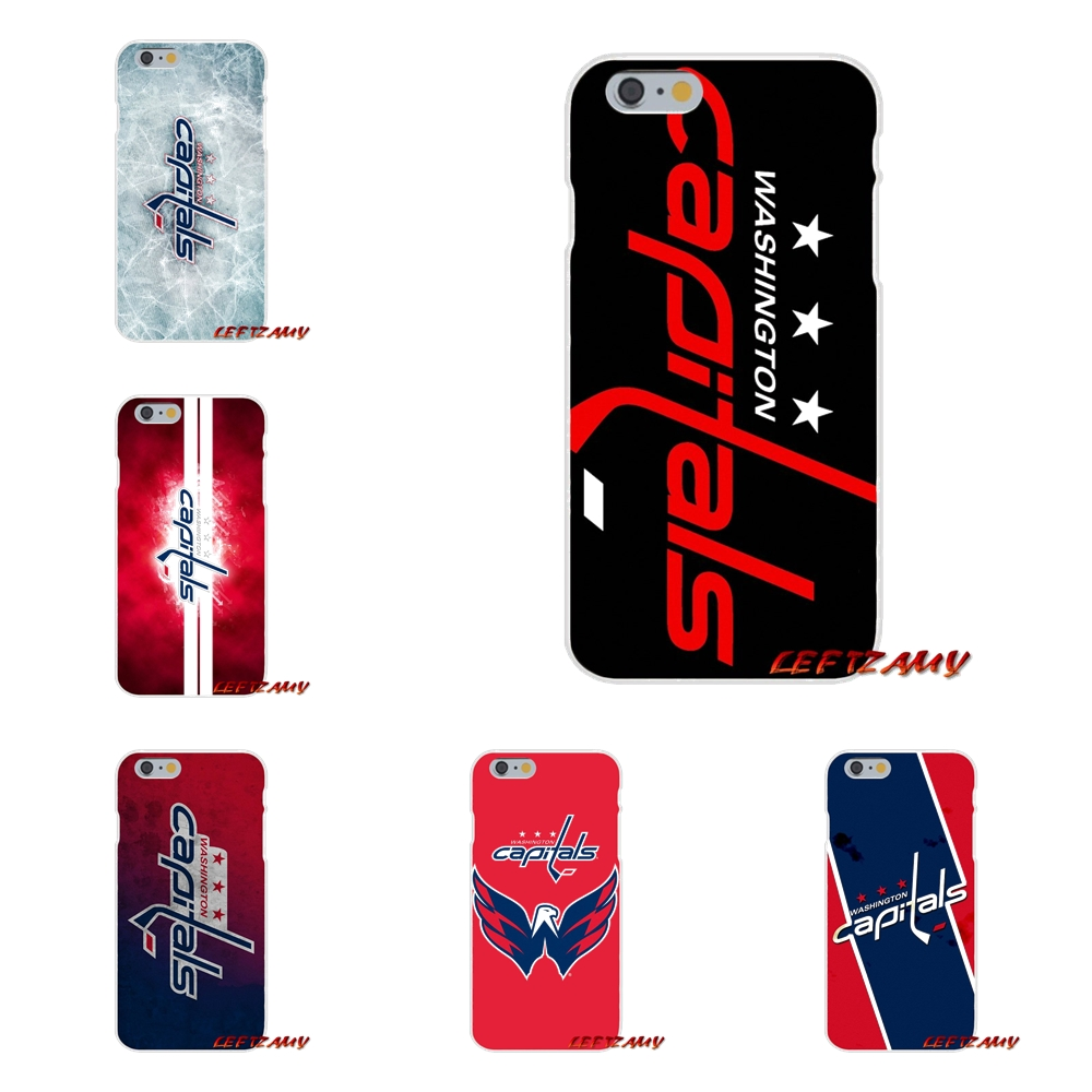 For <font><b>Huawei</b></font> P <font><b>Smart</b></font> Mate Y6 Pro P8 P9 P10 <font><b>Nova</b></font> P20 Lite Pro Mini 2017 Washington Capitals Hockey Logo Transparent Soft <font><b>Case</b></font> Cover