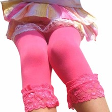 Малыш Дети Девочки Кружева Бархат Леггинсы Колготки Чулок Брюки 5-12 Т