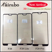 5PCS for Huawei P20 glass tempered full cover lite screen protector 3D Huaweip20 pro
