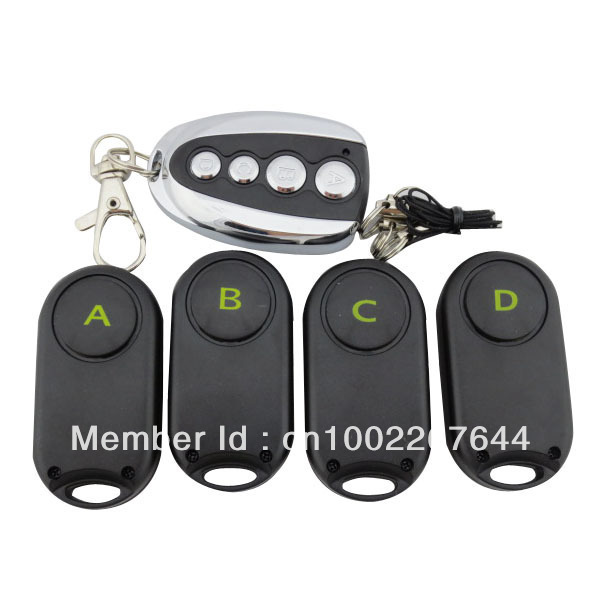 4 in 1 Wireless Remote Control goods Key Finder Anti Lost Alarm