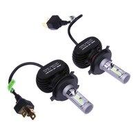 2 X Car LED Headlamps Headlamps Car LED Headlights H4 50W C S8