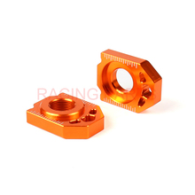 CNC Rear Chain Adjuster Axle Block For  SX SX-F XC XC-F EXC EXC-F XC-W XCF-W 85 125 150 300 350 450 530 SX85 EXC250 EXC300 [] f5 blue denim 85 f str w mediumw medium285040