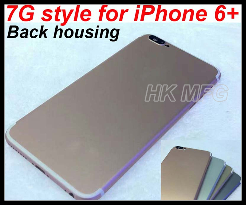c831501b00dd75 For iPhone 6 plus Back Housing like 7G style Alloy Metal Battery door back  cover for iPhone 7 design with 4 colors-in Mobile Phone Housings from  Cellphones ...