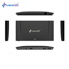 MeeGOPad T09 4 ГБ RAM Type-C Версии Windows 10 Mini PC КОРОБКА, 32 ГБ Intel x5-Z8350 Dual Band Wifi 2.4 г/5 г 1000 Мбит LAN Вычислить Stick