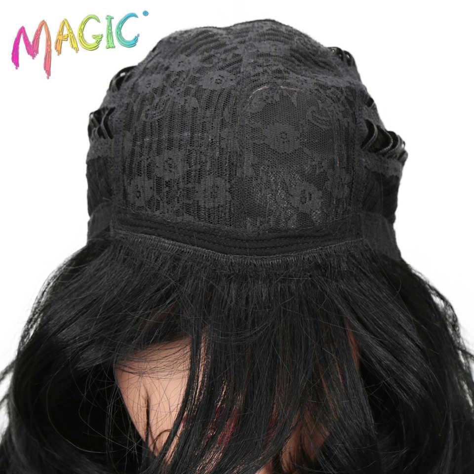 """Благородные волосы 22 """"Длинные свободные волнистые красный коричневый парик синтетический парик для черный женский парик термостойкие волокна волос 19 цветов Бесплатная доставка"""