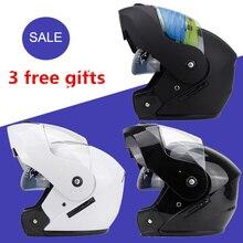 2016 Новый горячий марка Море Бабочки Флип Прохладно Мотоциклетный Шлем безопасный Двойной Линзы На Продажу Полный Половина Лица Dot M L Xl