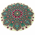 Cool Round Mistery Totem Hippie Chiffon Throw Roundie Mandala Towel Yoga Picnic Mat Beach Bikini Cover Up Shawl Pashmina Aug18