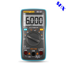 ZT101 ZT102 Digital Automatic Range Multimeter 6000 counts Backlight AC/DC Ammeter Voltmeter Ohm Portable Meter voltage meter