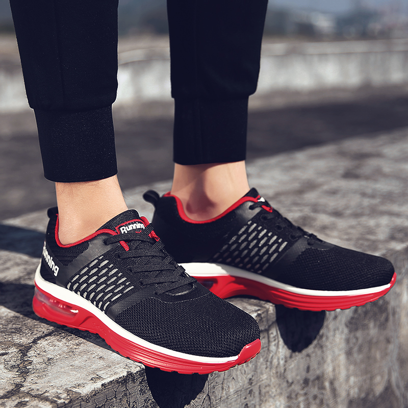 Air Cushion Men Running Shoes Салқын Breathable Sneaker Runner - Кроссовкалар - фото 5