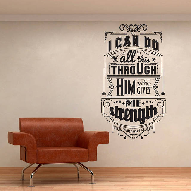 Hot Selling Fabulous Design WalL Stickers Three Different Sizes Vinyl  Quotes Wall Decals Living Room Art