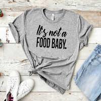 2019 Grossesse Annonce Chemise Il N'est Pas un Aliment Bébé Enceinte T-Shirt Grossesse Révéler Chemise Enceinte AF Attend T-Shirt,