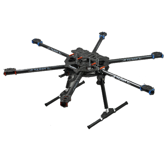 Tarot FY680 3K Carbon Fiber Fully Foldable Hexacopter FPV Aerial frame TL68B01 For Aircraft Aerial RC FPV Photography tator rc 3k carbon fiber plate 3 5mm tl2900