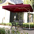 Brand High Quality Deluxe Edition Big Size 2.5m Outdoor Umbrella Patio Umbrellas Thicken Polyester Cloth, Umbrellas-008