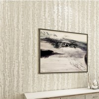 Free Shipping Fashion 3D Non Woven Wallpaper Warm Bedroom Living Room Background Wall Full Solid Color