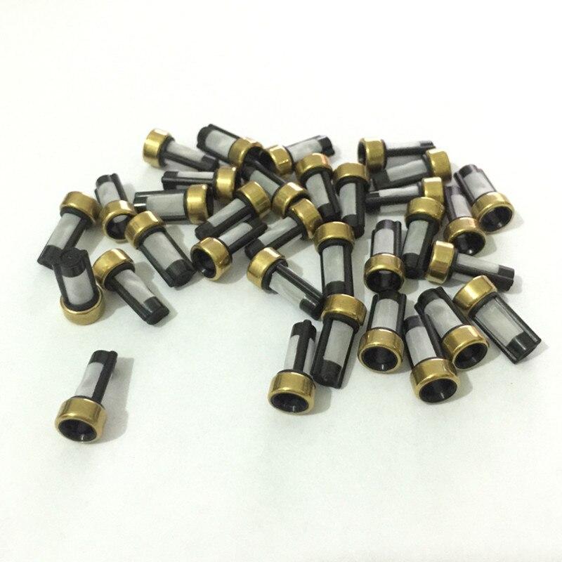 500 pièces universel injecteur de carburant micro filtre 12*6*3mm ASNU03C panier injecteur de carburant filtre pour bosch injecteurs