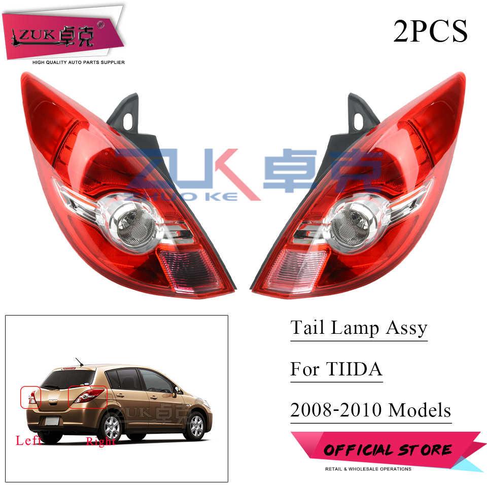 ZUK Rear Bumper LED Tail Light Brake Light For NISSAN TIIDA