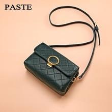 Паста бренд Сумки из кожи Для женщин сумки с узором «крокодиловая кожа сумка небольшой кисточкой плеча Курьерские сумки