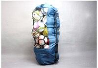 Hot sale!Football balls bag Basketball bag Professional player training bag mesh holder Soccer ball bags put 30pcs,Free shipping