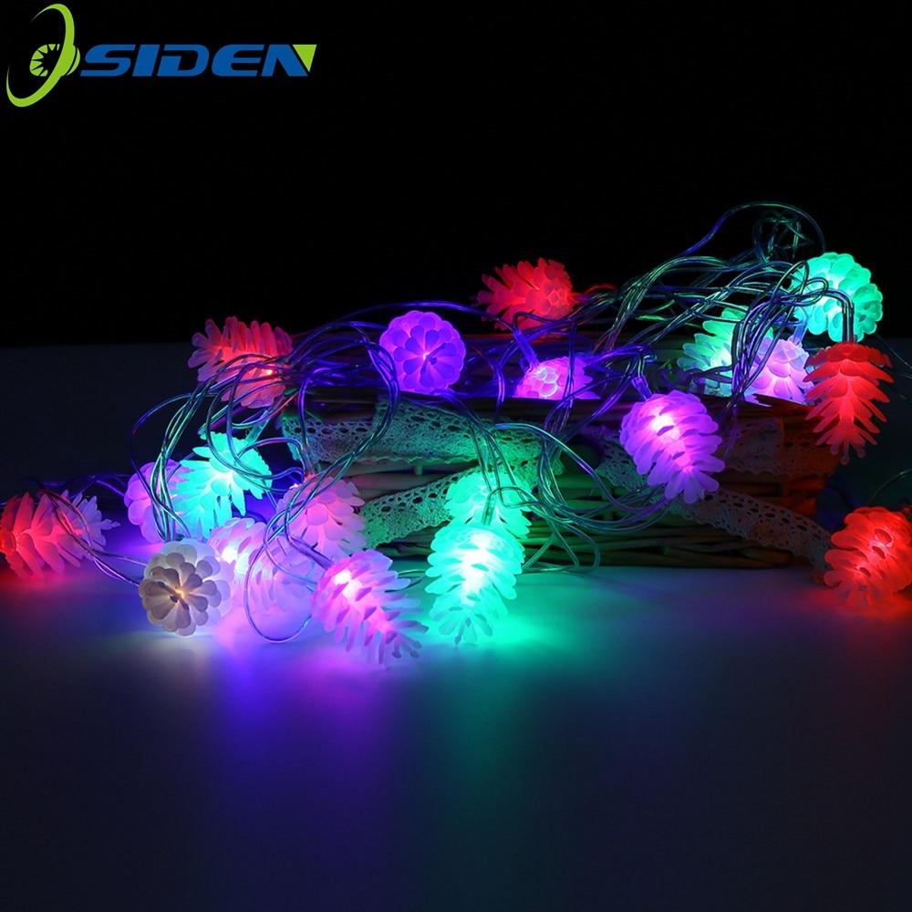 OSIDEN LED String Light 5M Waterproof 220V 20 LED holiday String lighting Multicolor Christmas Festival Party Outdoor Decor