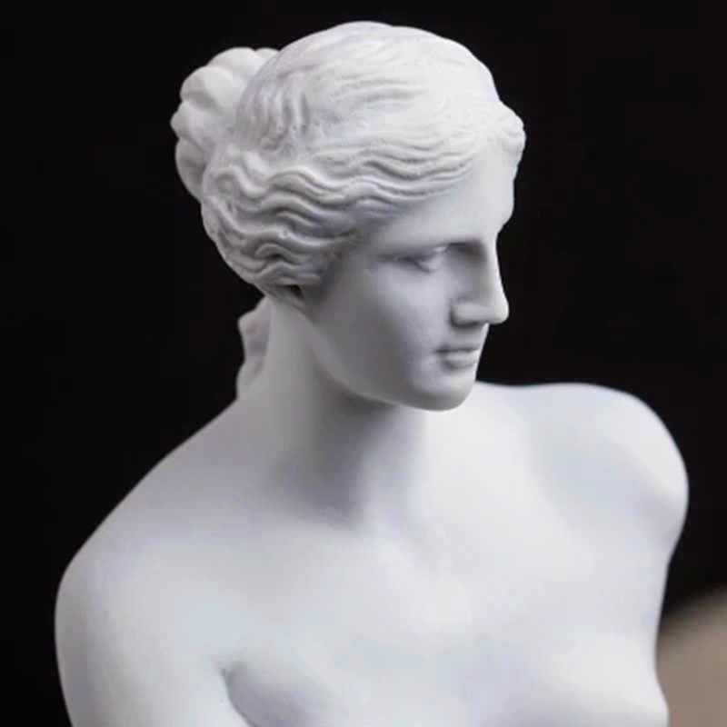 29 CENTIMETRI Nudo Venere di milo Afrodite Dea Ellenistica Statua Replica Riproduzione Della Statua di Gesso Statua di Gesso Schizzo G1744