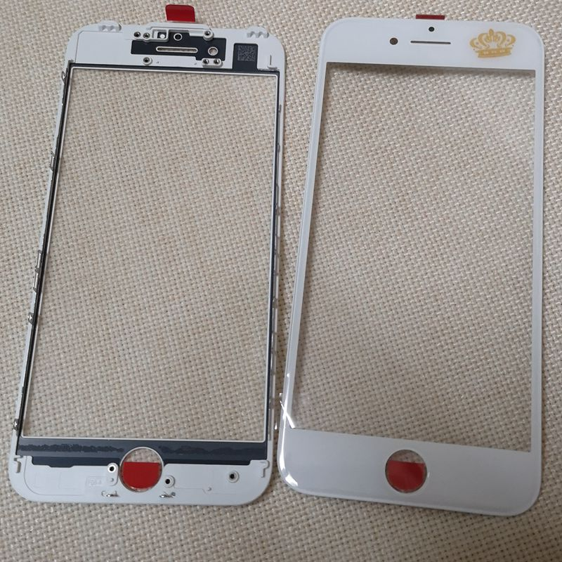 10pcs Top quality For iPhone  6 6p 6S 6sp 7 7p 8 8p Touch Screen Digitizer glass Lens panel Front LCD with frame bezel  External10pcs Top quality For iPhone  6 6p 6S 6sp 7 7p 8 8p Touch Screen Digitizer glass Lens panel Front LCD with frame bezel  External