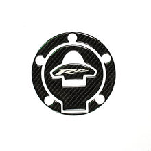 3D Motorcycle Stickers Carbon Fiber Tank Gas Cap Pad Filler Cover Sticker Decals Moto Sticker For YAMAHA YZF-R15(China)