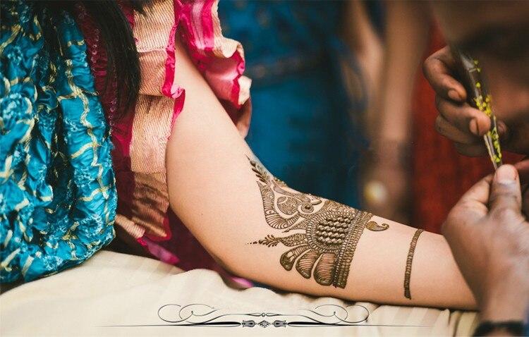 Pcs Mehndi Henna Golecha Tatuagem
